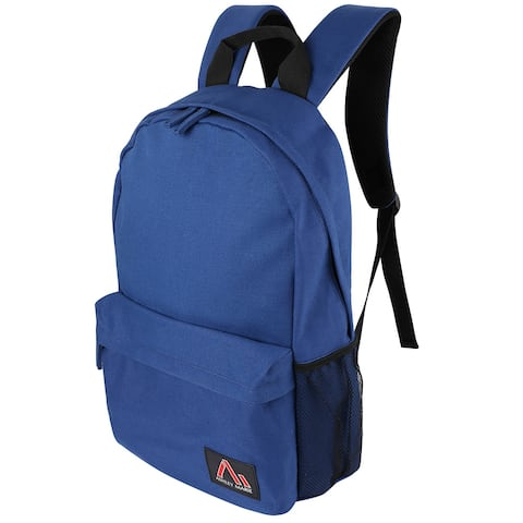 Durable Canvas Travel Backpack Office School Bag for 15 inch Laptop