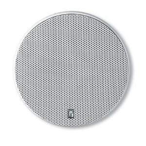 """PolyPlanar MA6600WW Poly-Planar 6.5-Inch Round Flush-Mount Marine Speakers (Pair)"""