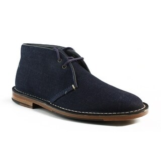 New Cole Haan Mens Groverchukka Denim Ankle Boots Size 7.5