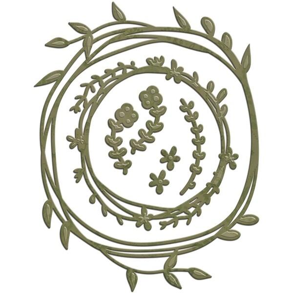 Spellbinders Shapeabilities Dies-Wreath