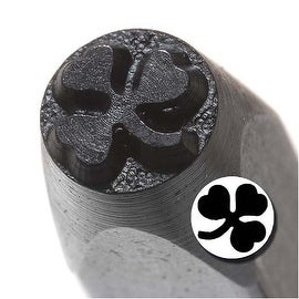 Solid Shamrock Punch Stamp For Blanks 1/5 Inch 5mm (1)