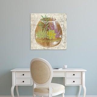 Easy Art Prints Chariklia Zarris's 'Glass Garden II' Premium Canvas Art