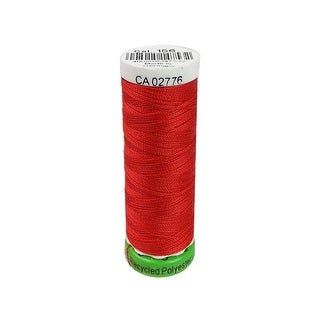 723860 156 Gutermann Recycled Thread Poly 100m Scarlet