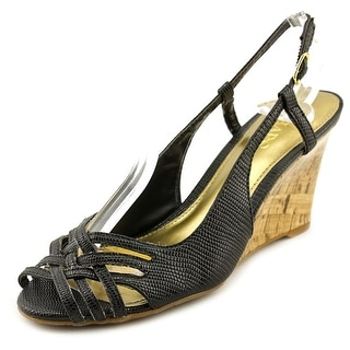 Chaps Ranna Women Open Toe Synthetic Wedge Heel