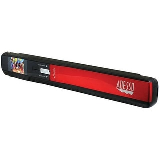 Adesso Nuscan 300 Ezscan(R) 300 900Dpi Portable Handheld Scanner