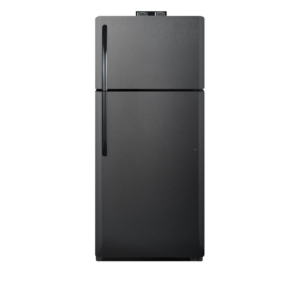 """Summit  BKRF21  30"""" Wide 20.6 Cu. Ft. Top Mount Refrigerator (White)"""