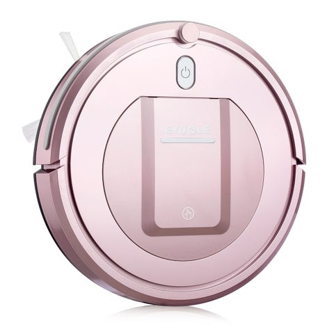 Eyugle KK290A-BE Sweeping Vacuum Robot Cleaner 7.6cm Height 500pa Suction 3 Cleaning Mode - Rose Gold