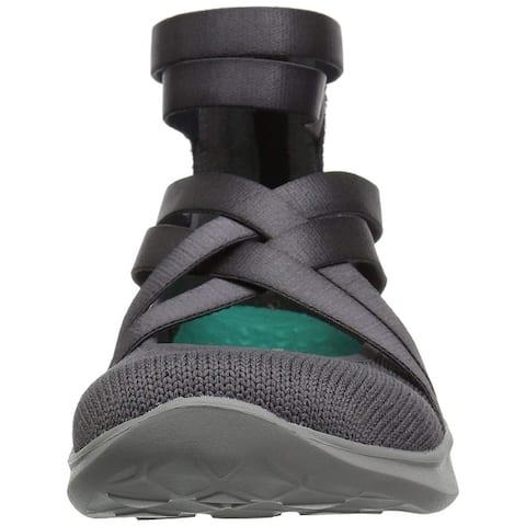 Skechers Womens Serene Dream Fabric Low Top Slip On Fashion Sneakers