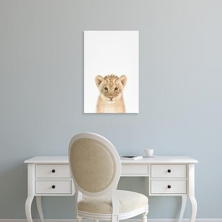 Easy Art Prints Tai Prints's 'Baby Lion' Premium Canvas Art