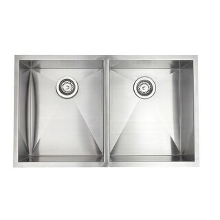 Jacuzzi AS-ZR20SXUSUM Astracast? Undermount Stainless Steel Double Bowl Kitchen Sink