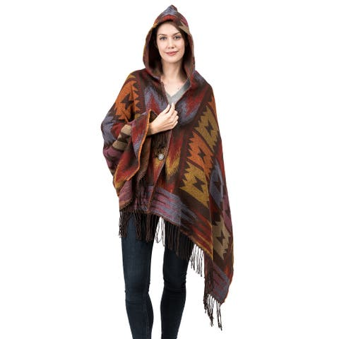 Glitzhome Simple Colorful Wrap with Tassels
