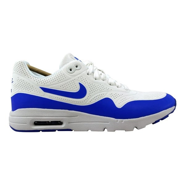 f220c453cd Shop Nike Women's Air Max 1 Ultra Moire Summit White/Racer Blue ...