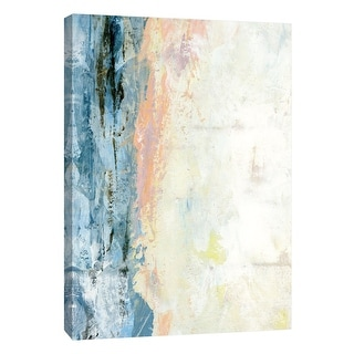 """PTM Images 9-108468  PTM Canvas Collection 10"""" x 8"""" - """"Coastal Seascape 10"""" Giclee Abstract Art Print on Canvas"""