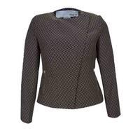 Bar III Women's Lisbon  Zip Front Jacket - khaki combo - 14