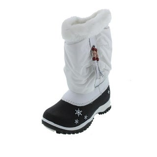 Baffin Girls Sasha Faux Fur Snow Boots