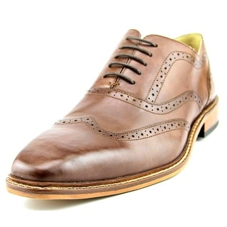Giorgio Brutini Rant Men Wingtip Toe Leather Brown Oxford