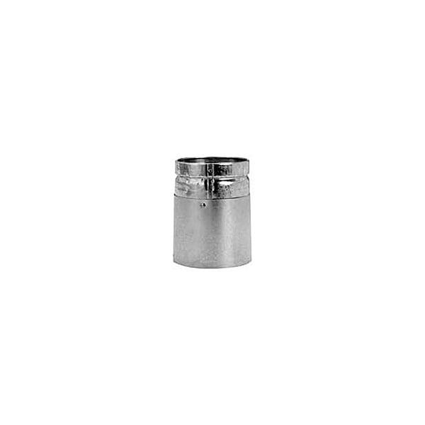 "Metalbest 7RV-UAM RV 7"" Type B Gas Vent Male Universal Adapter - Galvanized - N/A"