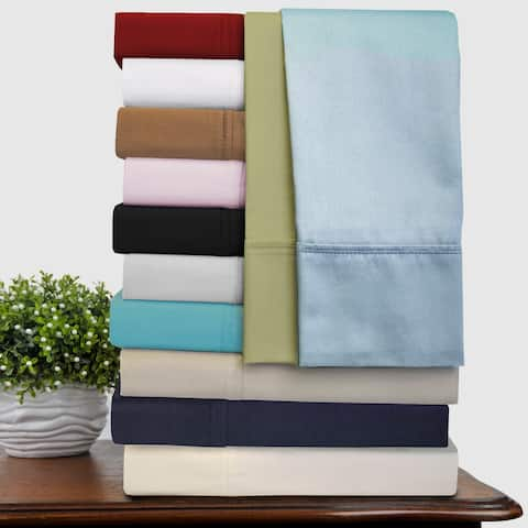 Superior 300 Thread Count Solid Combed Cotton Drop Bedskirt