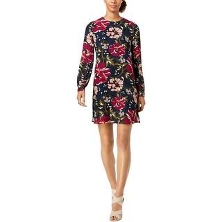 Tommy Hilfiger Womens Shirtdress Floral A-Line