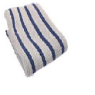 "Gourmet Classics 02623RB Casserole Stripe Dish Cloth,14"" x 14"", Royal Blue, Set/2"