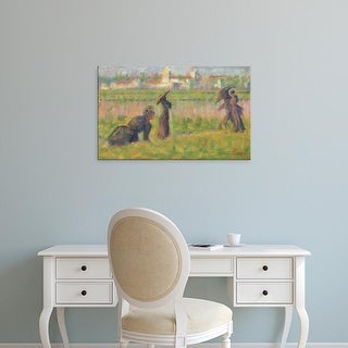 Easy Art Prints National Gallery of Art's 'Figures in a Landscape' Premium Canvas Art