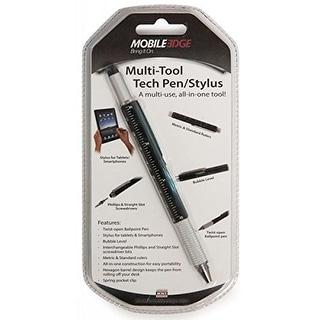 Mobile Edge MBLMEASPM1B Mobile Edge Tech Pen Multi-Tool Twist Pen and Stylus Combo, Black (MEASPM1)