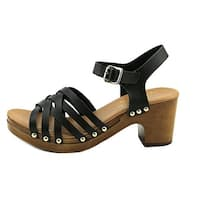 Callisto Womens Devone Open Toe Casual Ankle Strap Sandals