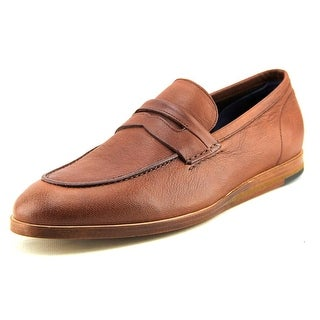 Cole Haan Bedford Penny Men Apron Toe Leather Brown Loafer
