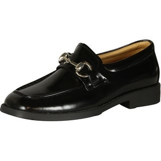 Robertino Boys 324 Slip On Loafers With Chain Shoes