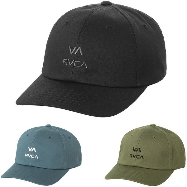 838e6a711ba63 Shop RVCA Santiago Sport Cap Mid-Fit Curved Visor Strapback Hat ...