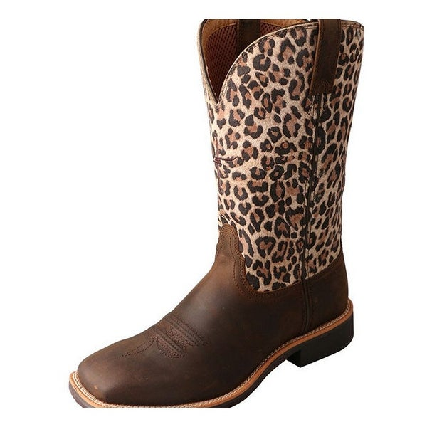Twisted X Western Boots Womens Top Hand Tabs Crazy Horse