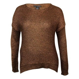 Grace Elements Women's Metallic Dolman Knit Sweater