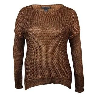 Grace Elements Women's Metallic Dolman Knit Sweater