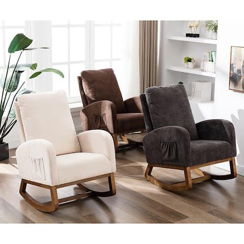 Living Room Modern Comfortable Rocking Chair,Arm Chair