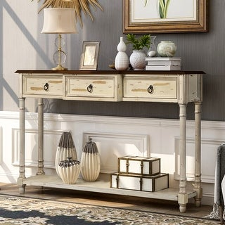 Link to Luxurious Console Table with 3-Drawer Similar Items in Living Room Furniture