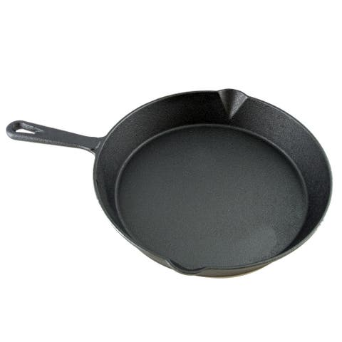 """General Store Addlestone 10"""" Frying Pan - Round - Cast Iron"""