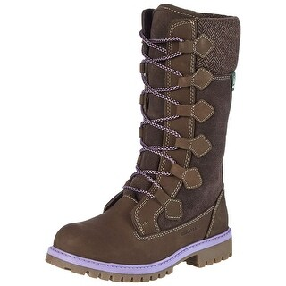 Kamik Girls Takoda Mid-Calf Zipper Hiking Boots