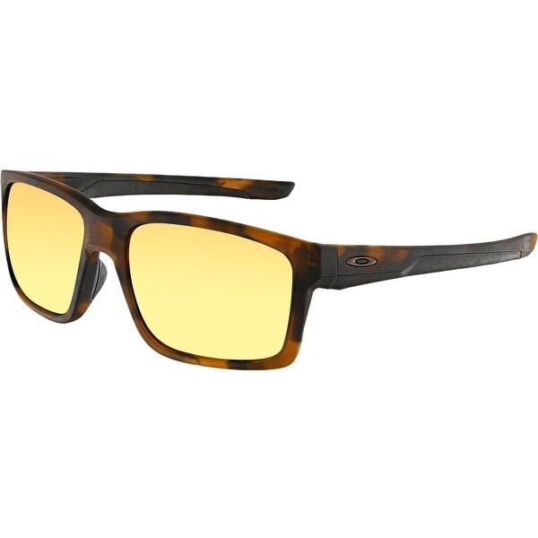 fabc38fec8 ... cheap oakley menx27s polarized mainlink prizm oo9264 22 brown rectangle  sunglasses dc4db c5245