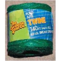 The Cordage Source 1006G-WA Jute Garden Twine, Green, 3 Ply, 3/140'