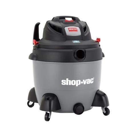 Shop-Vac SVX2 SC16-SQ650 18 gal. Corded Wet/Dry Utility Vacuum 12 amps 120 volt 6.5 hp Gray 28 lb.
