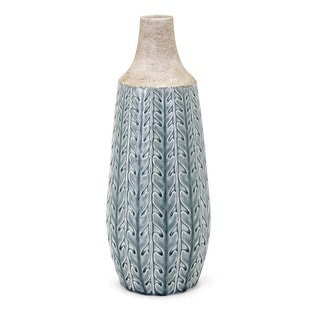 IMAX Home 13679  Clara Large Ceramic Vase - Green