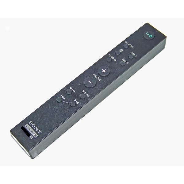 OEM Sony Remote Control Originally Shipped With: SRSX88, SRS-X88, SRSX9, SRS-X9, SRSX99, SRS-X99
