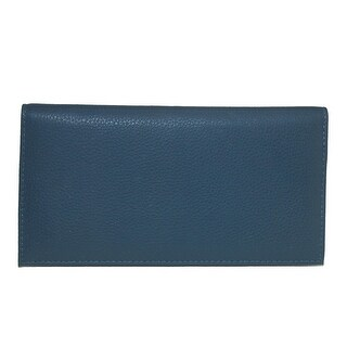 Link to CTM® Leather Solid Color Checkbook Cover - one size Similar Items in Wallets