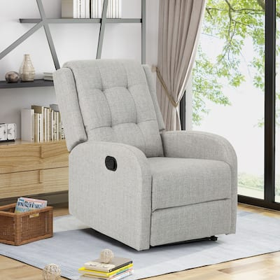 O'Leary Traditional Upholstered Recliner by Chirstopher Knight Home