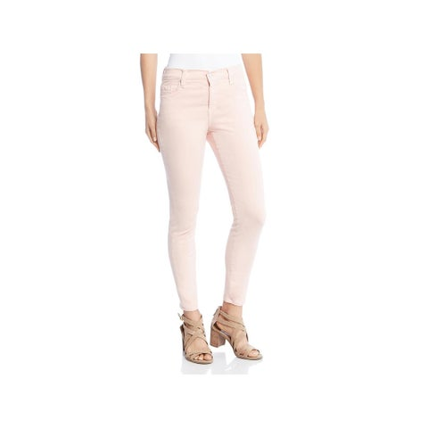 Karen Kane Womens Colored Skinny Jeans Mid-Rise Ankle - 8