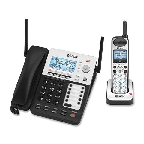 At&t sb67138 4line corded/cordless expand - Silver