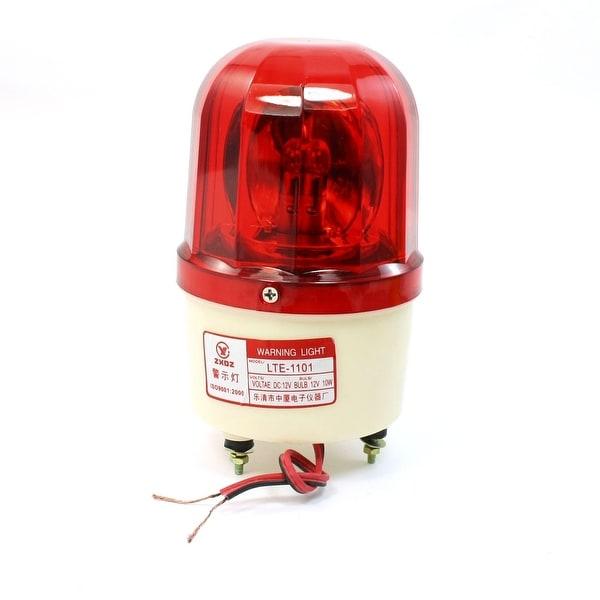 Shop Industrial Signal Tower Red Rotating Flashing Warning