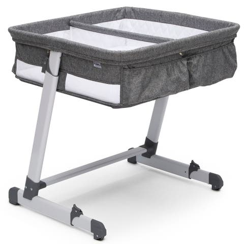 Simmons Kids By The Bed Twin City Sleeper, Grey Tweed