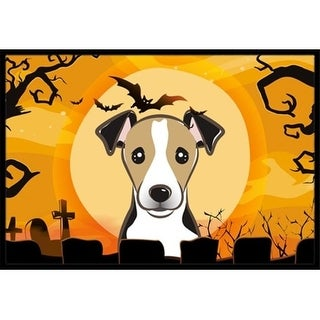 Carolines Treasures BB1819JMAT Halloween Jack Russell Terrier Indoor & Outdoor Mat 24 x 36 in.