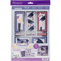 Hunkydory Moments & Milestones A4 Topper Set-Great To Graduate!